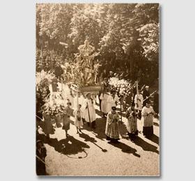 La processione del 6 maggio di Sommariva del Bosco